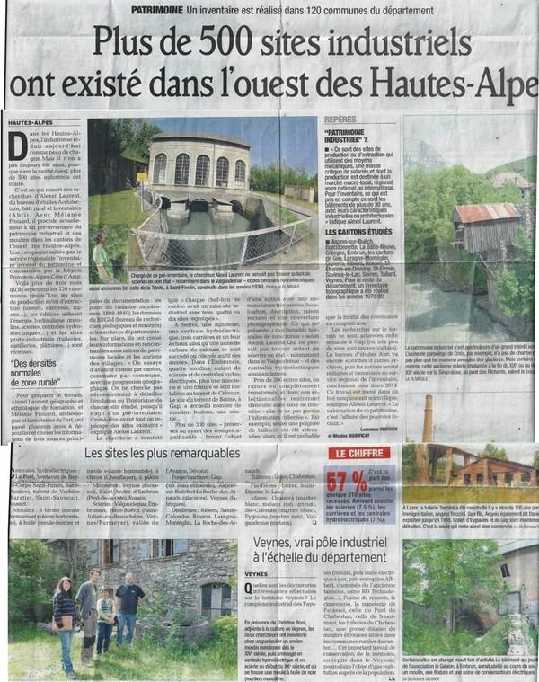 Le Dauphiné Libéré article du 21 Juin 2013